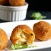 Butternut squash risotto balls