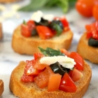 Best Italian Tomato Bruschetta Recipe