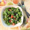 Summer salad - a quick and easy recipe