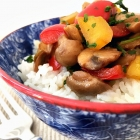 Mushroom Stir Fry With Rice