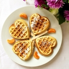 Homemade Cinnamon Waffles Recipe