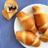 Chocolate crescent roll recipe with cranberries and walnuts