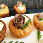 Mini Yorkshire Pudding Canapés