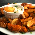 Spicy Potato Wedges (V, GF)