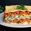 Turkey spinach lasagna recipe with ricotta