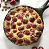 Chocolate Chips and Cherry Clafoutis