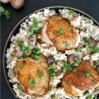 One-Pot Wonder Chicken Mushroom Rice
