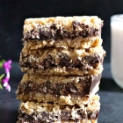 Healthy No-Bake Chocolate Oat Bars