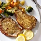 Baked Honey Mustard Pork Chops