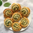 Spinach Pinwheels with Ricotta