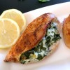 Baked Spinach-Stuffed Chicken Breast