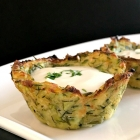 Healthy Baked Zucchini Bites