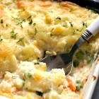 Easy Fish Pie with Mashed Potato Topping