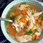 Slow Cooker Chicken Soup with Vegetables