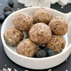 Vegan Blueberry Energy Balls