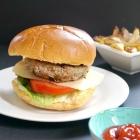 Healthy Tarragon Turkey Burgers