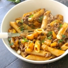 One-Pot Cheesy Ground Beef Pasta