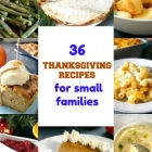 Small Thanksgiving Dinner Recipes