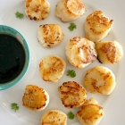 Pan-Fried King Scallops with Chinese Brown Sauce