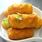 Potato Croquettes with Ham and Cheese