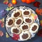 Pumpkin Linzer Cookies