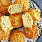 Cheesy Carrot and Courgette Muffins
