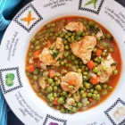 Chicken and Green Pea Stew