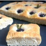 Grape and Rosemary Focaccia Bread, a most delicious homemade Italian bread that can be enjoyed as a side dish or just on its own. It's a lot easier to make than you think, and a lot tastier than any store-bought version.