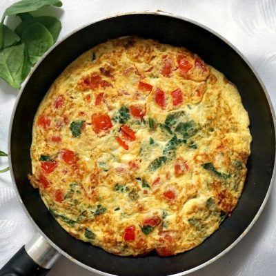 World's Best Vegetarian Omelette