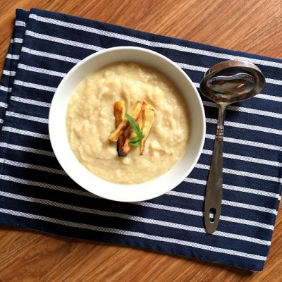 Roasted Parsnip Soup Recipe