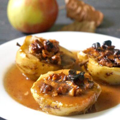 Stuffed Baked Apple Halves