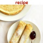 Start your day in style with this authentic French crêpes recipe and enjoy a gourmet breakfast better than at any fancy restaurant. Quick and easy to make, this is a recipe that the whole family will love.