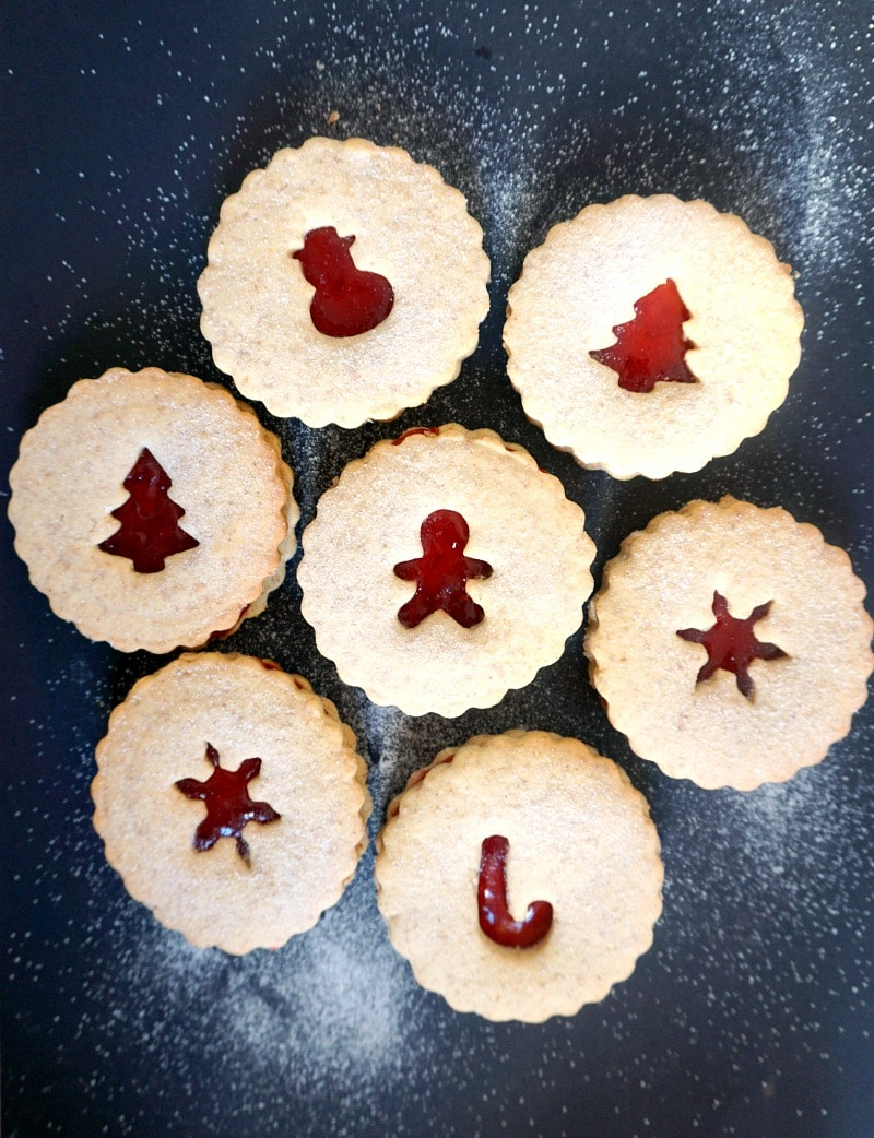Christmas Linzer Cookies Recipe My Gorgeous Recipes