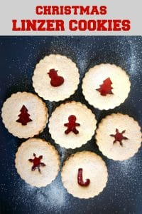 Melt-in-your-mouth linzer cookies with a hint of vanilla, the best ever jam-filled cookies. Get a big batch ready, and your Christmas party will be a smashing success.