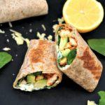 Grilled chicken, avocado wrap