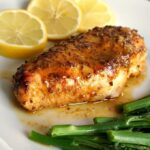 Baked Honey Mustard Chicken Breast with Lemon