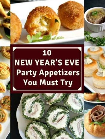 A Collection of New Year's Party Appetizers
