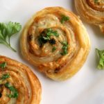 Turkey and cheese pinwheels