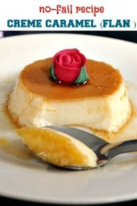 Flan without condensed milk orcrème caramel, an indulgent flourless dessert that simply melts in your mouth. The perfect dessert for any party, these individual pots of heaven are sheer pleasure.