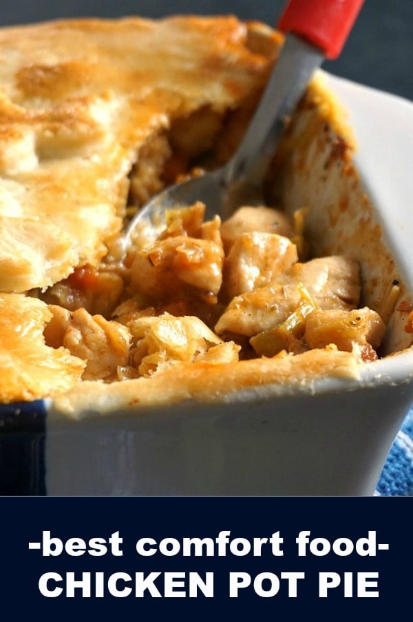 A fabulous family dinner dish, Homemade Chicken Pot Pie is one of my favourite, and I always go back to it the weather is cold and all I need is a plate of comfort food to keep me going.