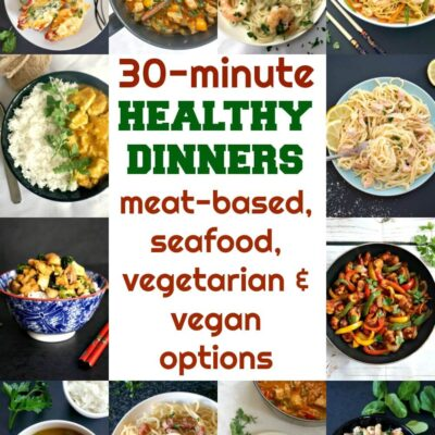 30 Minute Healthy Meals