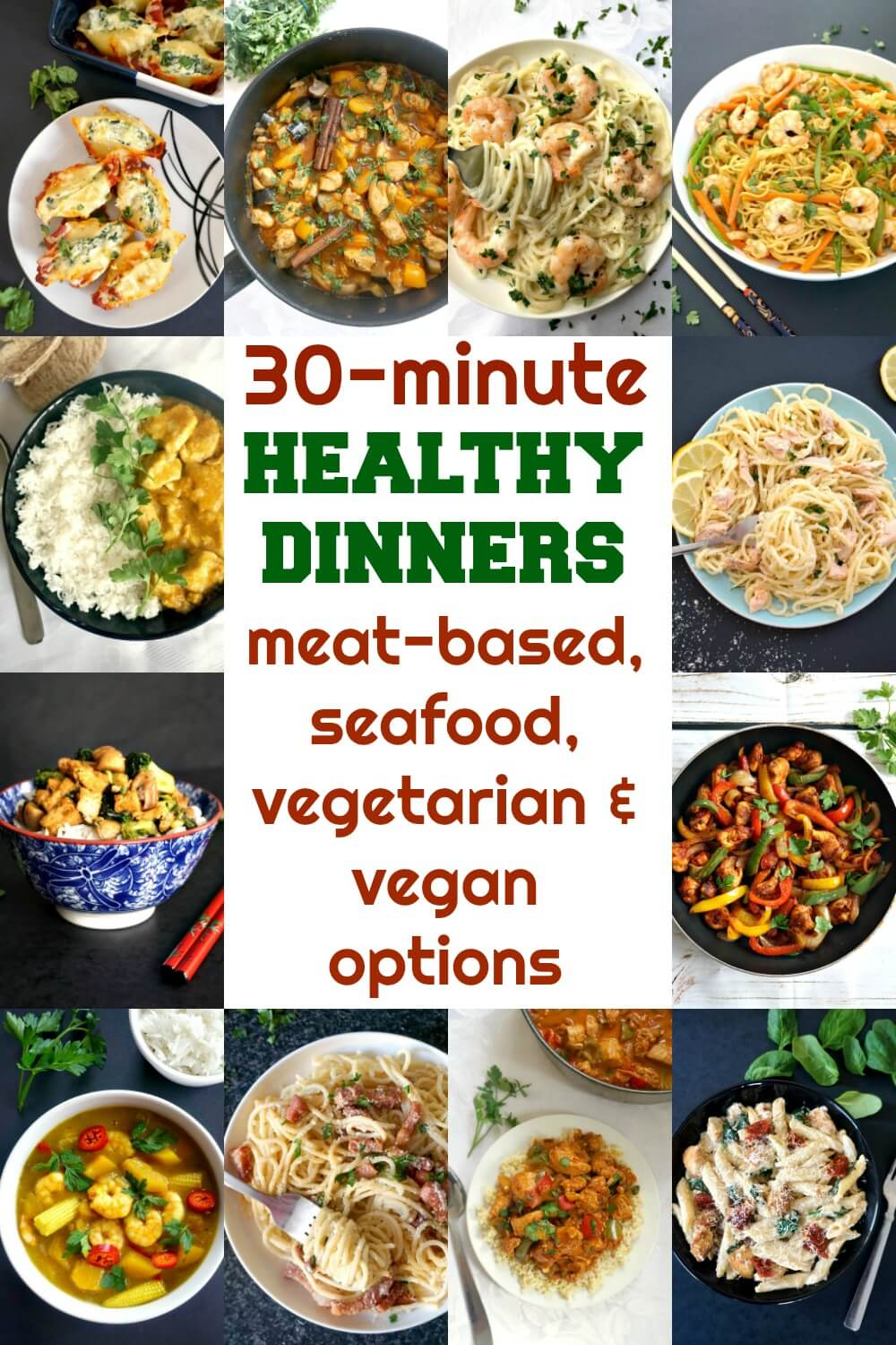 30 minute healthy meals my gorgeous recipesdelicious 30 minute healthy meals, a collection of recipes that are quick and easy to