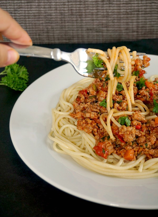 Turkey Bolognese Sauc