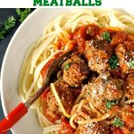Spaghetti with meatballs, one of my favourite Italian dishes, and without a shadow of a doubt one of the best ever dish l have cooked. Comforting, super easy to make, and so delicious!