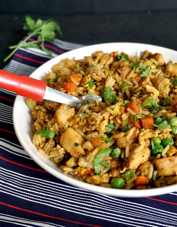 how to make chinese egg fried rice recipe