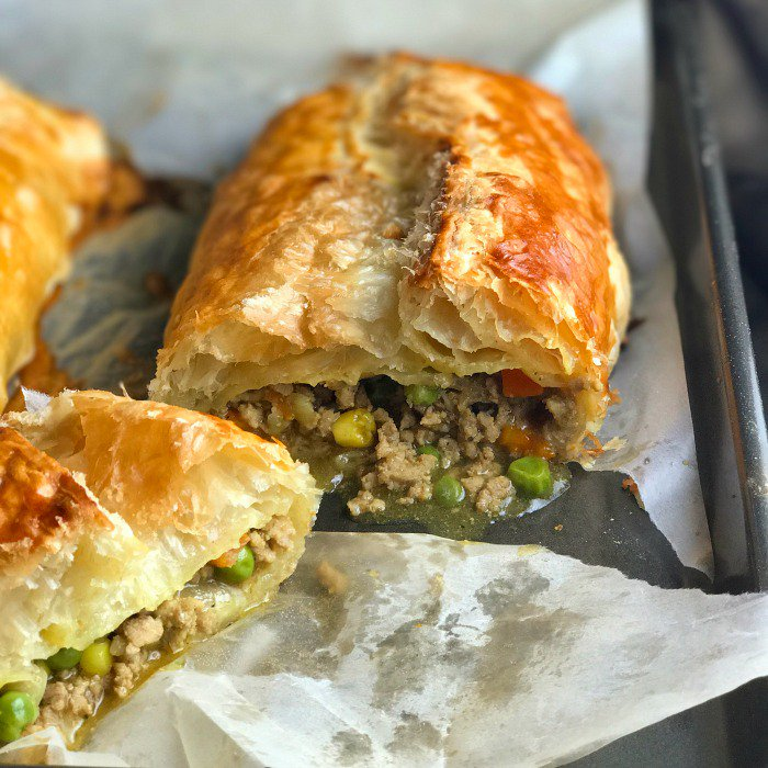 Turkey Curry Puffs