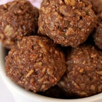Rice Krispies Peanut Butter Balls (with video)
