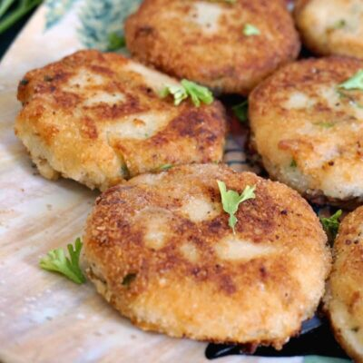 Easy Tuna and Potato Patties