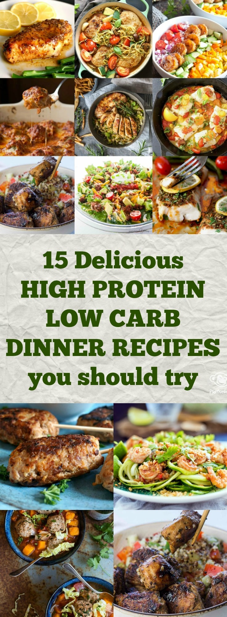 15 Delicious High Protein Low Carb Dinner Recipes You Should Try My Gorgeous Recipes