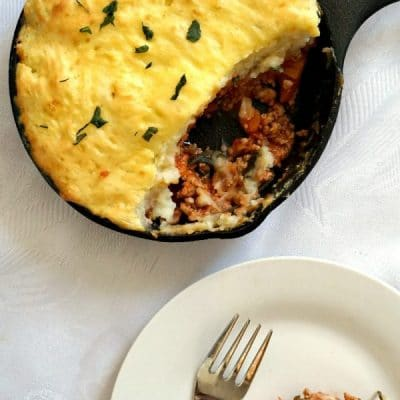 Skillet Turkey Shepherd's Pie